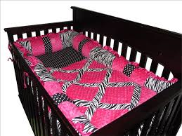 baby boutique hot pink zebra 14 pcs crib bedding set incl mobile 799418233758