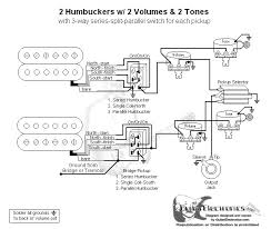 wiring diagram for humbucker guitar wiring diagram wiring diagram 2 humbuckers volume tone 3 way switch wirdig