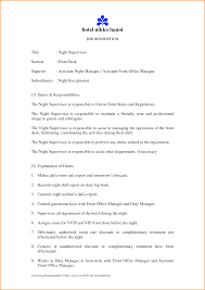 Subway Job Description Resume 12 Doc728942 Job Responsibilities