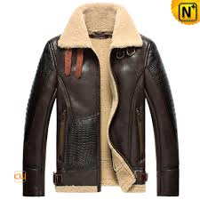 b 3 sheepskin jacket