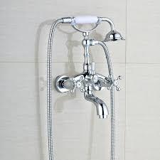 bathroom faucet sets bathtub faucet sets telephone style chrome dual handle bathroom bathtub faucet set wall bathroom faucet sets