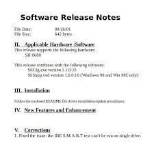 Release Notes Template - 14+ Free Word, Pdf Documents Download ...