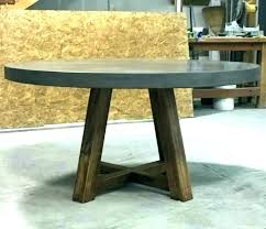 concrete kitchen table dining by desk commercial furniture round tables top t