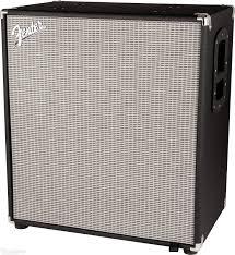 4x10 Guitar Cabinet Fender Rumble 410 4x10 500 Watt Bass Cabinet W Horn Gearnutscom