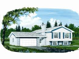 artistic split level house plans with attached garage lovely wonderful side