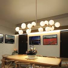 brilliant light modern led pendant light white bubble ball lamp glass fixtures gold bar stair dining room lamp with ceiling p