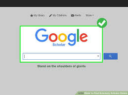 3 Ways To Find Scholarly Articles Online Wikihow