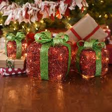 Gift Box Decoration Ideas Where to Decorate with PreLit Gift Boxes for Christmas My 60