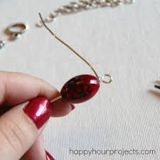 wire wrapped single bead necklace happy hour projects rh happyhourprojects com wire wrapped chandelier earrings wire wrapped bracelets