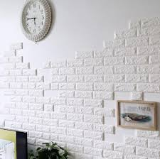 diy self adhesive 3d wall stickers bedroom decor foam brick room decor wallpaper wall decor living wall sticker home decoration room stickers decorations