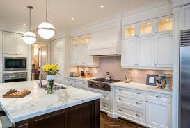 Rta White Kitchen Cabinets Espresso Chicago Rta Kitchen Cabinets With White Marble Countertop