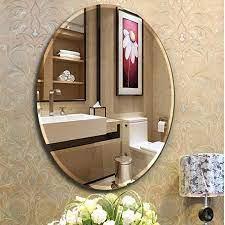 china vanity oval wall mirrors custom