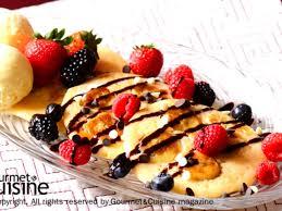 สูตรของ แพนเค้กกล้วยกับช็อกโกแลตชิพ | โดย gourmetandcuisine.com