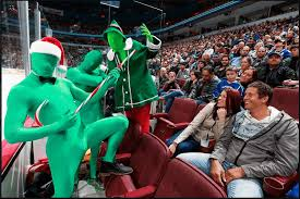 The vancouver canucks green men are personal heroes of mine espn shows why. Green Man Jay Demerit Debut New Vancouver Sports Podcast Offside