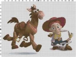 Toy Story Slinky Dog Cross Stitch Pattern On Popscreen