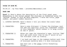 book format template greg pak comic book writer filmmakerdownloadable ms word comic