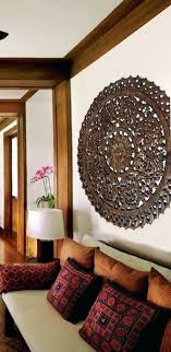carved wall decor elegant medallion wood carved wall plaque large round wood carving panel carving lotus carved wooden decorative wall panel