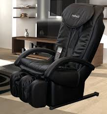 massage chair leather. faux leather reclining massage chair with ottoman