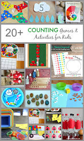 20+ Counting Games and Activities for Kids | Kids preschool learning, Math  for kids, Preschool activities