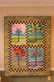 41 best Seasonal Quilts images on Pinterest | Beautiful, Book and Live & Four Seasons Quilt, designed and made by moi. Adamdwight.com