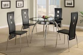 round glass kitchen table. Black Glass Dining Table Round Kitchen E