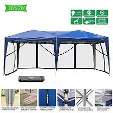 vingli 10 x 20 ez pop up canopy tent