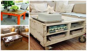 5 diy wooden pallet coffee tables thought table ideas b