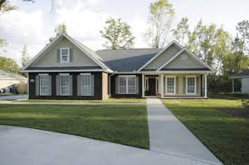 Houses House Styles Craftsman Plans One Story Country Stone For One Story House