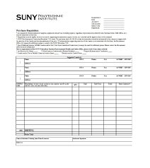 50 Professional Requisition Forms Purchase Materials Lab