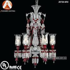 6 light crystal chandelier baccarat style 6 light crystal chandelier with wine red color 6 light 6 light crystal chandelier