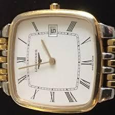 longines flagship wristwatches longines flagship bi colour bracelet automatic quartz mens watchtype l5 633 3