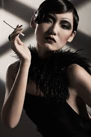 mingming the flapper 20s inspired 1920s smoking elegant mysterious
