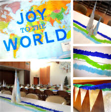 Decorations for Christmas Around The World Party
