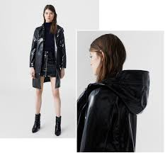 on my mind patent leather coat