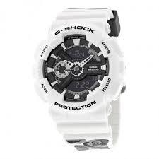 casio g shock black dial white resin men s watch gma s110f 7a g casio g shock black dial white resin men s watch gma s110f 7a