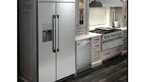 countertop refrigerator restaurant display glass door counter depth freezer  side by