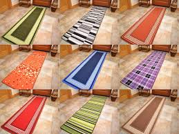 wonderful utility runner rugs with long short narrow small door mats washable kitchen rugs hall