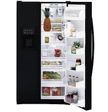 "ge profile arcticaâ""¢ 25 4 cu ft side by side refrigerator product image product image"