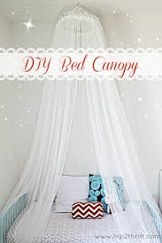 Diy Canopy Bed Craftaholics Anonymousar How To Make A Bed Canopy