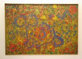 abstract painting by beauford delaney