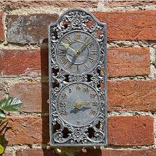 outside in westminster wall clock