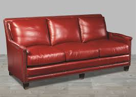red leather soda nailheads