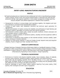 Mechanical Engineering Resume Sample X Resume Sample Mechanical