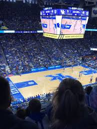 Rupp Arena Seating Chart Section 231 Rupp Arena Section 232 Row F Seat 27 Kentucky Wildcats