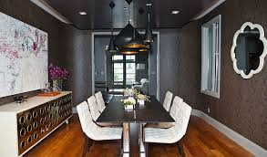 When decorating with a subtle, neutral gray like this one from numberoneredwood, a textured wall is a great way to add even more visual interest to your dining room. 25 Elegant And Exquisite Gray Dining Room Ideas