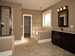 Master Bathroom-Add Tile Flooring, Frame The Mirror, Stain Cabinets,  Change Pinterest