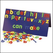Foam Magnetic Letters Lower Case Print Font