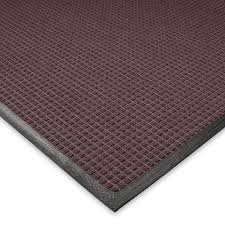 guaranteed waterhog rugs new rug amazon com andersen waffle design mat 3x10 rubber waterhog mats amazon t14