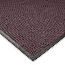 guaranteed waterhog rugs new rug com andersen waffle design mat 3x10 rubber
