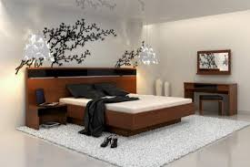 Beautiful Asian Bedroom Furniture Oriental Style Neutral Color Inspired Intended Impressive Design